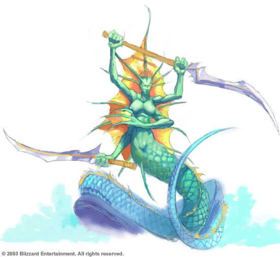 World of Warcraft Naga