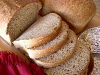 Grain brown bread