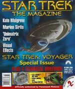 Star Trek The Magazine volume 1 issue 18 cover 2