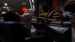 Bashir watches over Garak