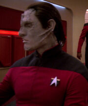 Cardassian helmsman, 2370