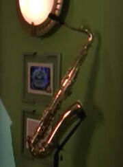 Saxophone ready room