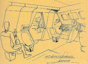 Class F shuttlecraft interior sketch