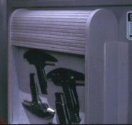 Weapons locker, 2293