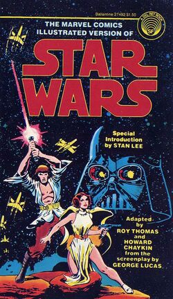 MARVEL STAR WARS ILLUSTRATED