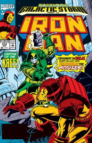 Iron Man Vol 1 279
