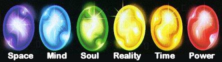 The main Infinity Gems