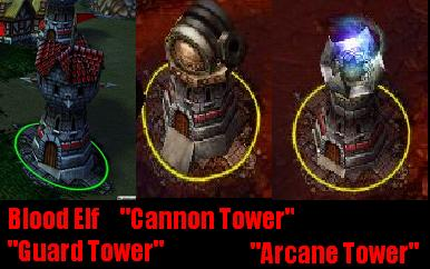 BloodElfGuardTowers