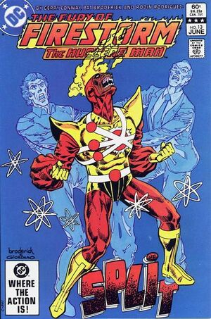 Cover for Firestorm #13