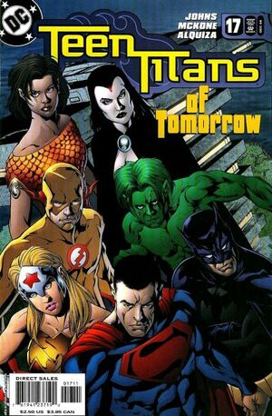 Cover for Teen Titans #17