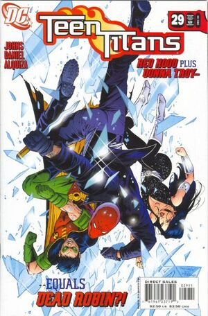 Cover for Teen Titans #29