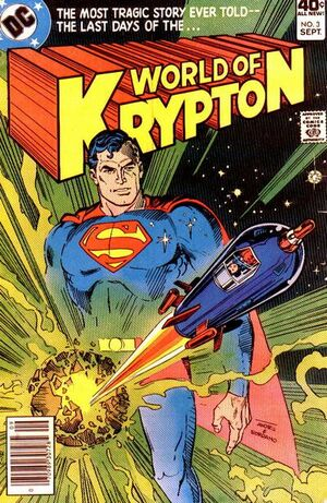 Cover for World of Krypton #3