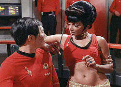 Mirror Universe Sulu and Uhura 2268