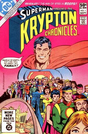 Cover for Krypton Chronicles #1