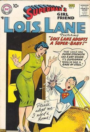Cover for Superman's Girlfriend, Lois Lane #3