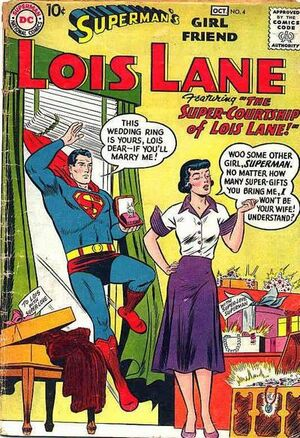 Cover for Superman's Girlfriend, Lois Lane #4