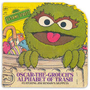 Oscar-the-Grouch&#39;s Alphabet of Trash
