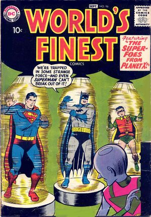 Cover for World's Finest #96