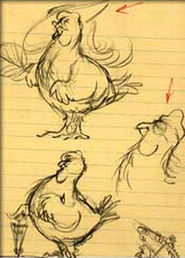 Chickensketch