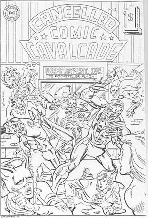 Cover for Cancelled Comic Cavalcade #2