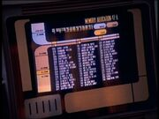 USS Voyager crew manifest, Projections