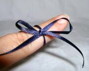 Tie a string around your finger