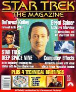 Star Trek The Magazine volume 1 issue 6 cover