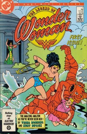 Cover for Legend of Wonder Woman #1 (1986)