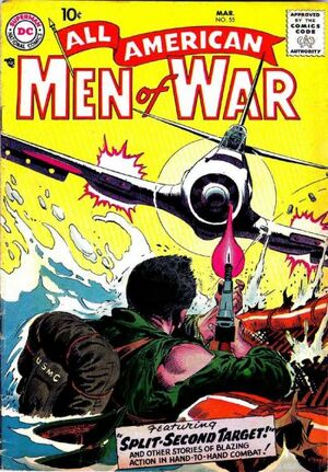 Cover for All-American Men of War #55