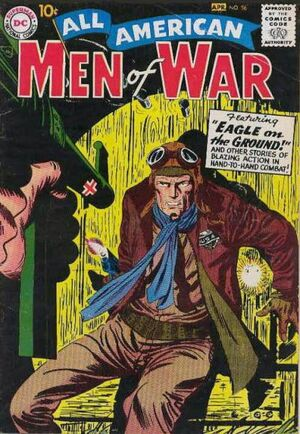 Cover for All-American Men of War #56