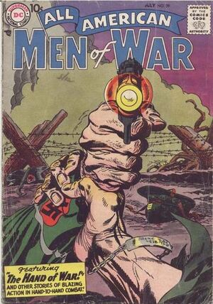 Cover for All-American Men of War #59