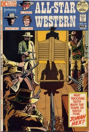 Cover for All-Star Western #10