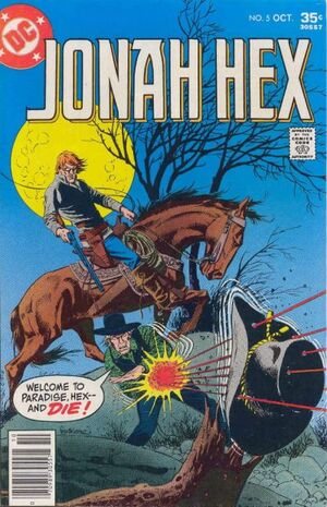 Cover for Jonah Hex #5