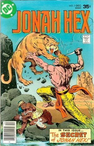 Cover for Jonah Hex #7