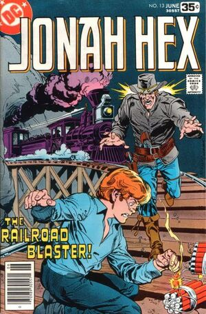 Cover for Jonah Hex #13