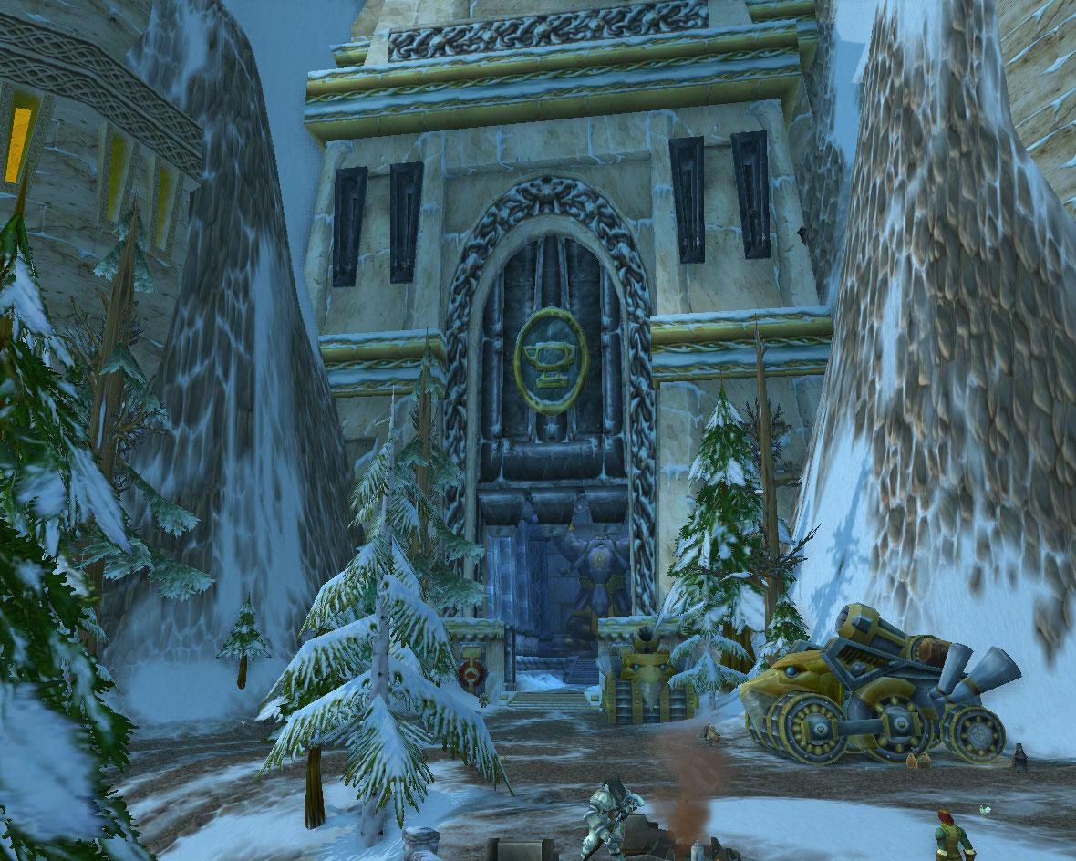 Delightful Gates Of Ironforge