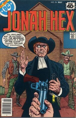 Cover for Jonah Hex #24