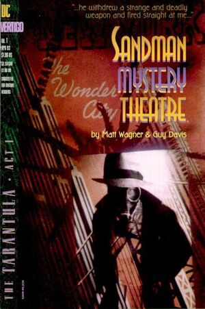 Cover for Sandman Mystery Theatre #1
