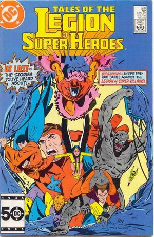 Cover for Legion of Super-Heroes #326