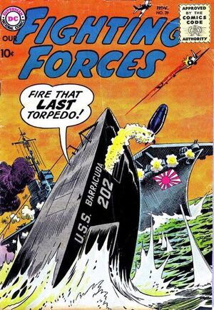 Cover for Our Fighting Forces #39