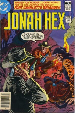 Cover for Jonah Hex #35