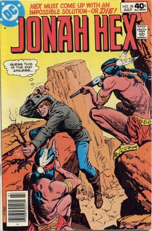 Cover for Jonah Hex #38