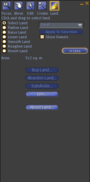 Land-editor original