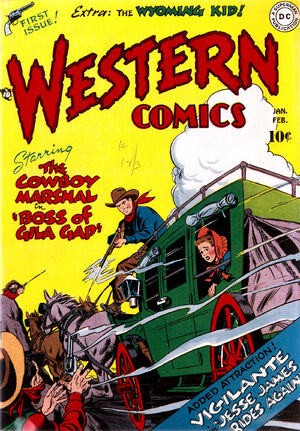 Cover for Western Comics #1
