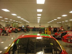 Evernham-Motorsports-NASCAR-Garage-July-9-2005