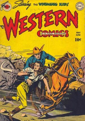 Cover for Western Comics #3