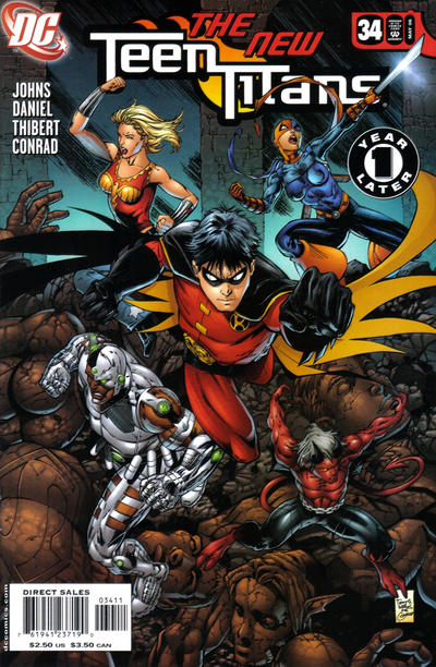 Cover for Teen Titans #34