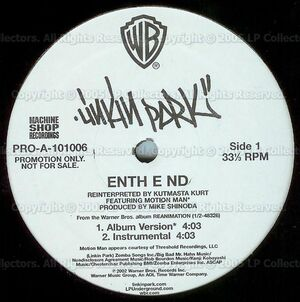 Linkin Park - Enth E Nd-Frgt-10 Vinyl (Side 1)