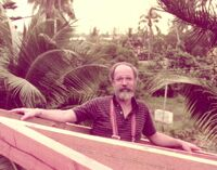 Dan Dennett in Tahiti