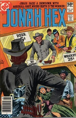 Cover for Jonah Hex #44